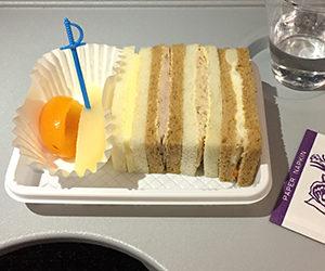 エアチャイナ, 中国国際航空, 機内食