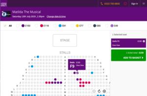 イギリス, ロンドン, ミュージカル, チケット, 買い方, 購入方法, オンライン, ネット