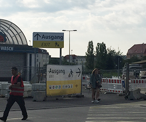 Flixbus, フリックスバス, フランス, パリ, ドイツ, ベルリン, 感想, バス停