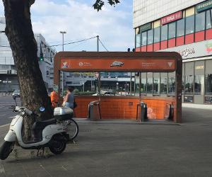 Flixbus, フリックスバス, フランス, パリ, ドイツ, ベルリン, 駅