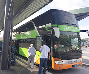 Flixbus, フリックスバス, フランス, パリ, ドイツ, ベルリン, 感想