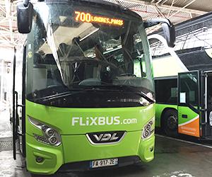 Flixbus, フリックスバス, 乗り方, ロンドン, パリ, 高速バス, 乗り場, バス停