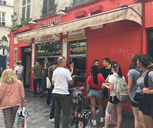 パリ, 観光, マレ地区, ファラフェル, 人気店, 注文