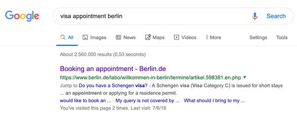 ドイツ, ベルリン, ワーホリ, ビザ, 現地, 申請, 予約