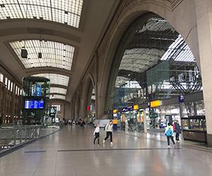 ライプツィヒ, 中央駅
